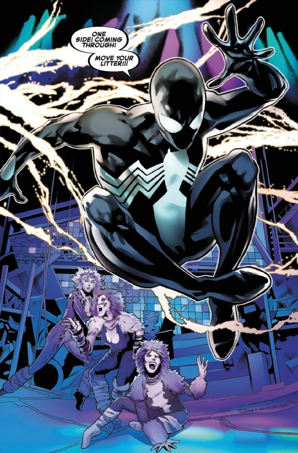 Spidey Tries His Hand at Broadway Again in Symbiote Spider-Man #3 (Preview)
