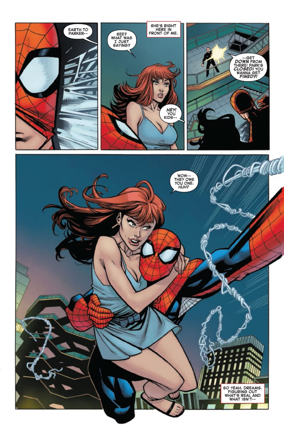 "Spidey Gets ""Romantic"" with MJ in Amazing Spider-MAn #24 (Preview)"