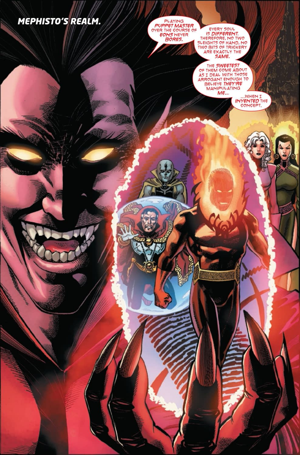 Messing With Dormammu in Doctor Strange #15 (Preview)