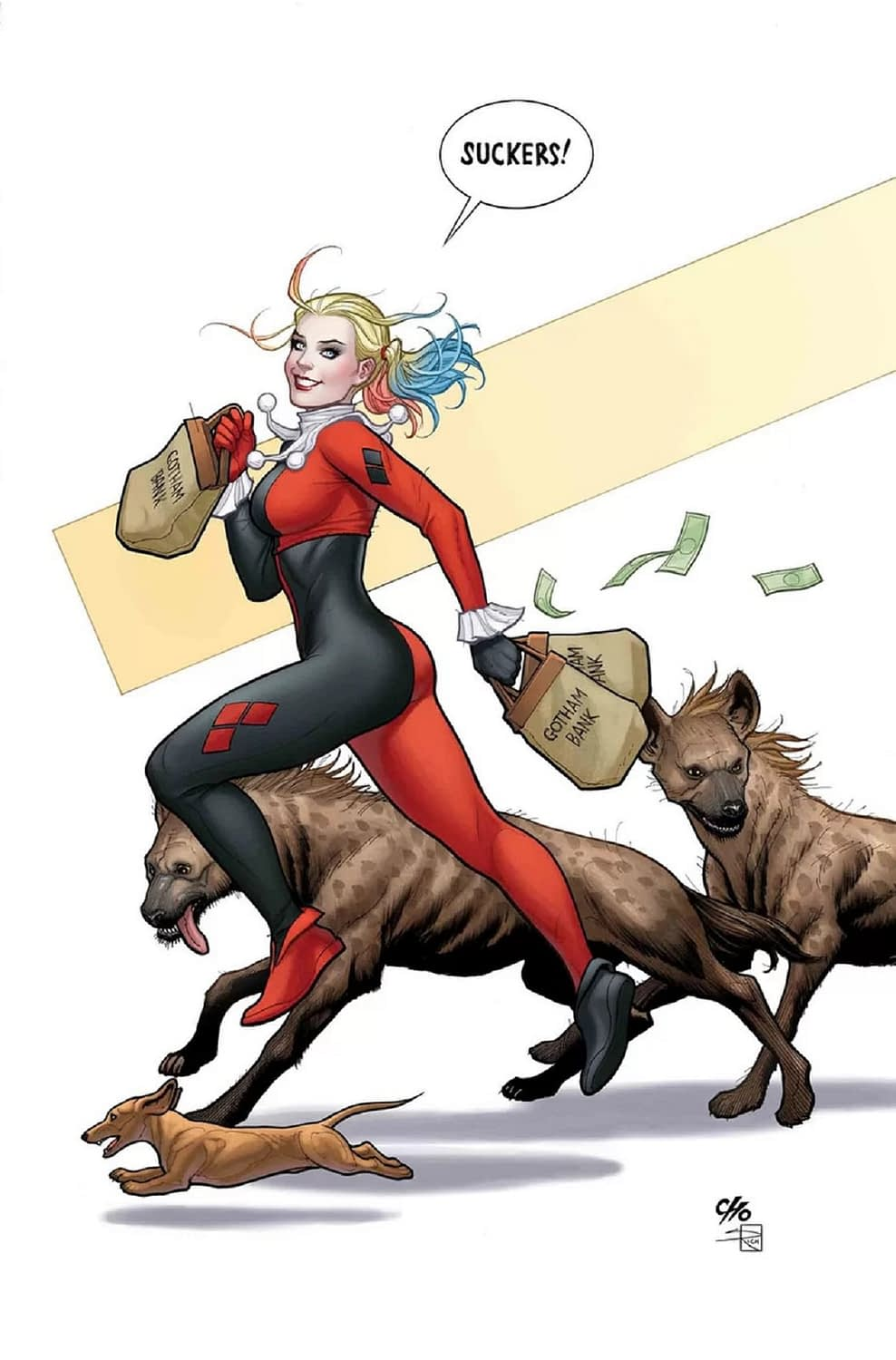 """Will """"Harley Quinn"""" Punch Cancer in the Face in September's Issue #65?"""