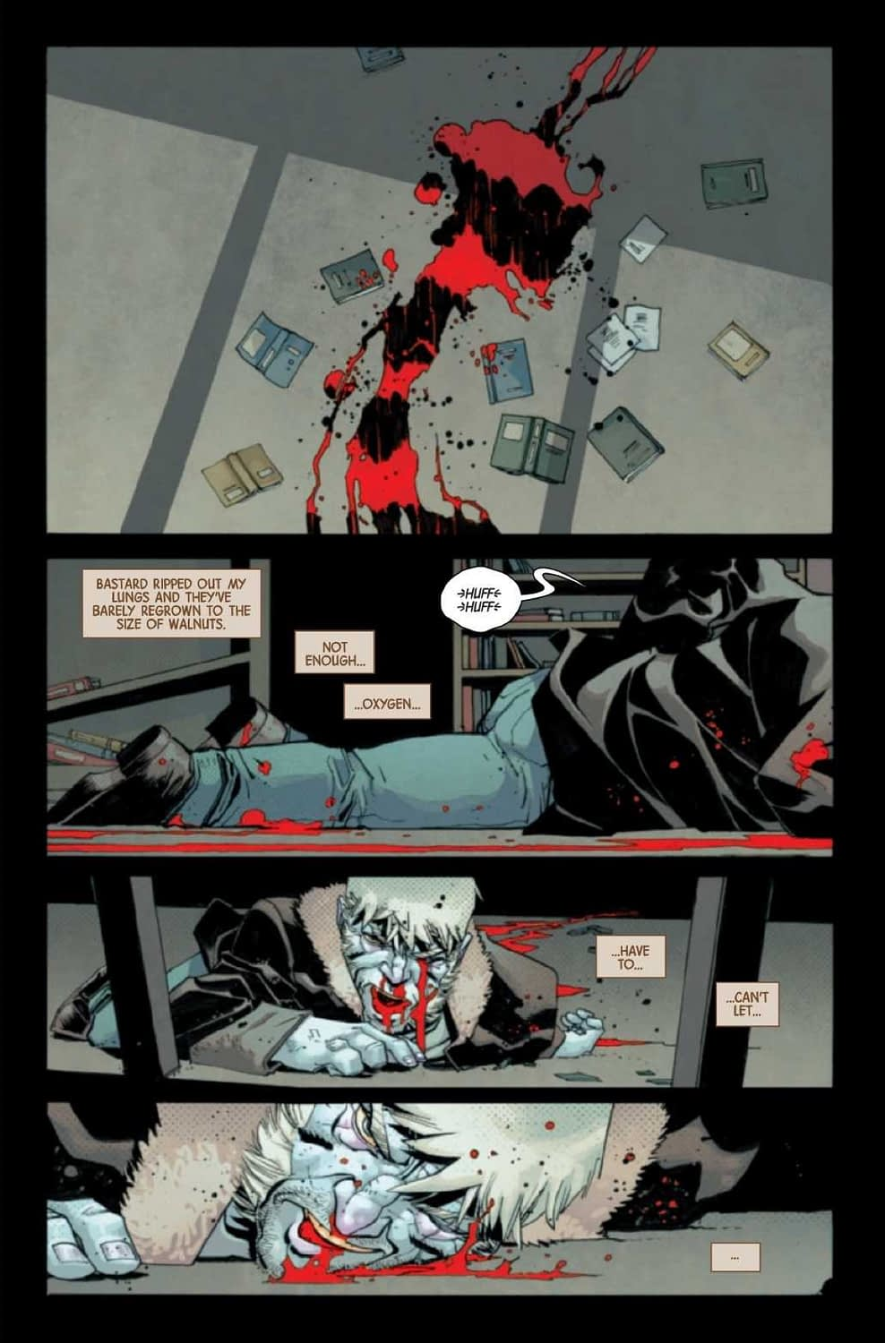 Wolverine Never Learns - Dead Man Logan #9 Preview