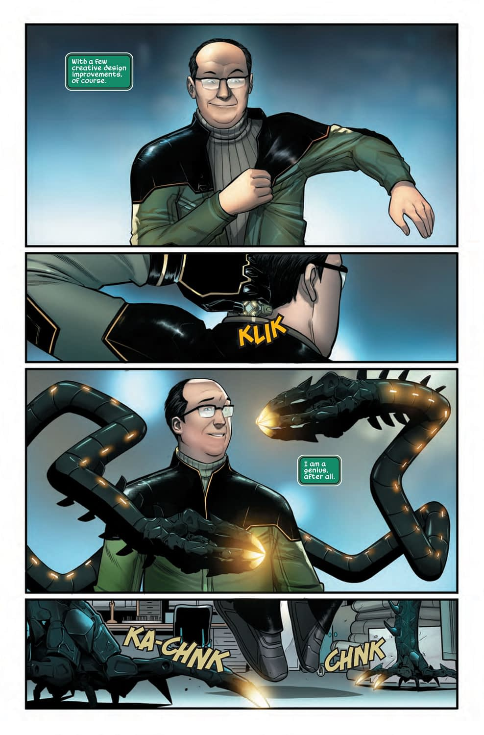 Doctor Octopus Learns to Love Himself in Spider-Man: City at War #4 (Preview)