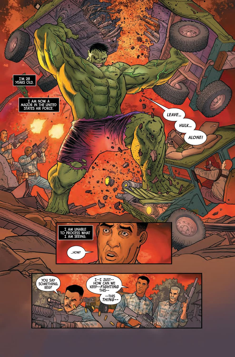 Immortal Hulk #21 - Back to Hulk's 2005 Origins [Preview]