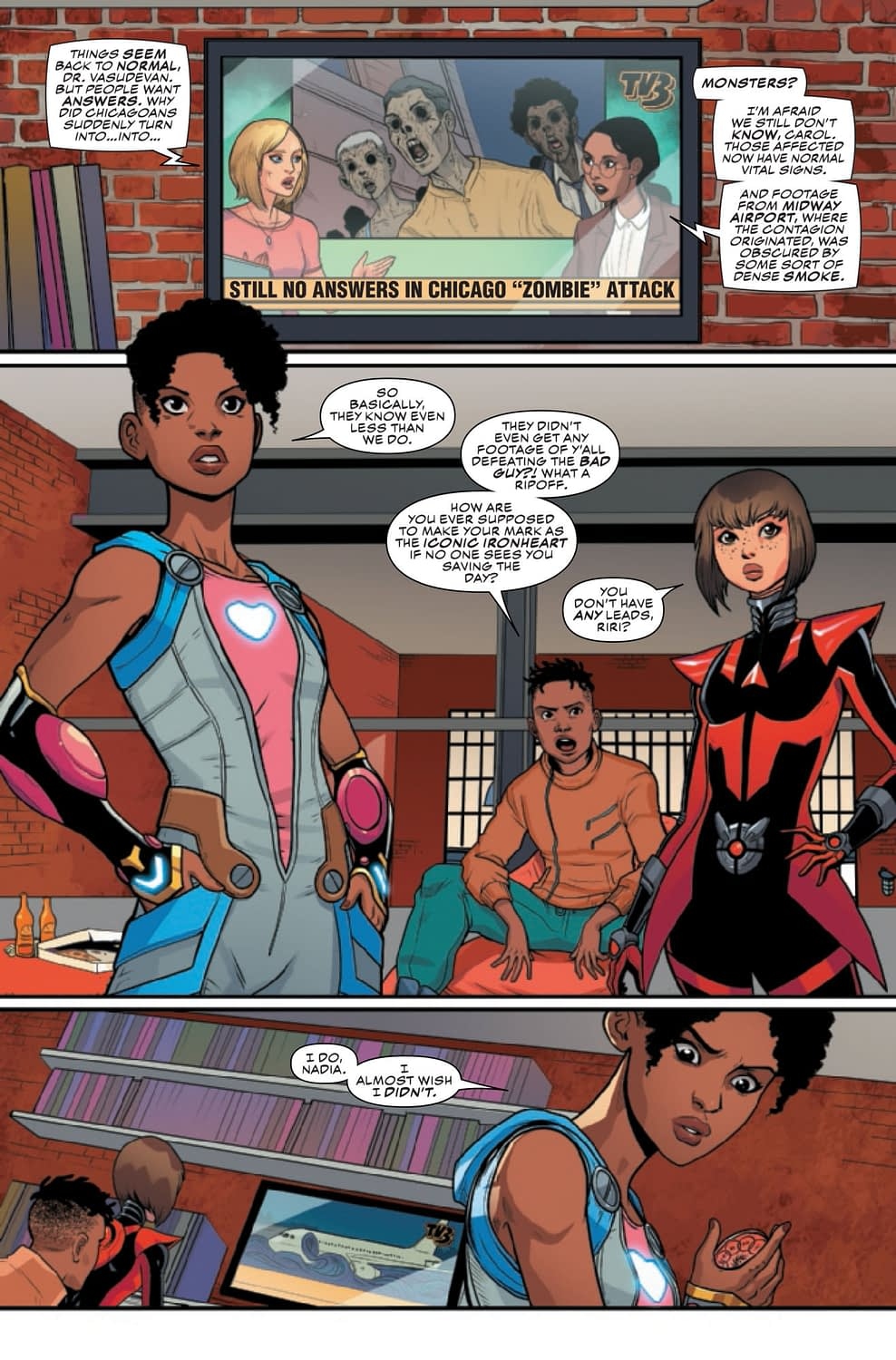 Ironheart #8: Daddy Issues [Preview]