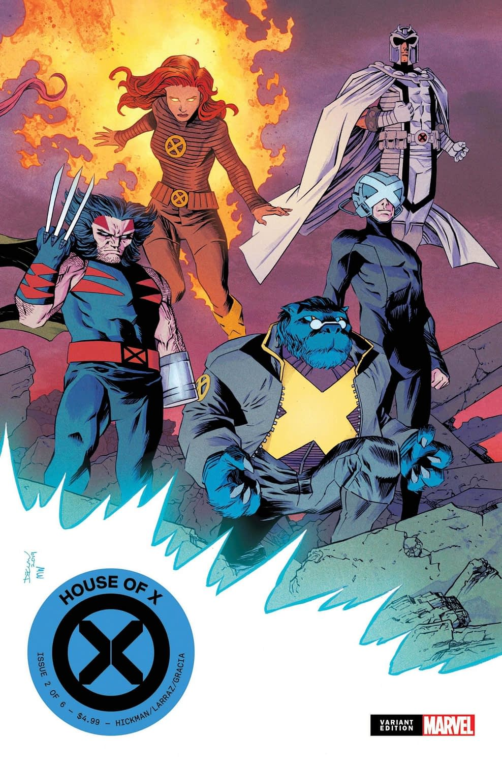2019 Marvel Unlimited Plus Members Will Get Shalvey House of X Variants, Exclusive Deadpool Figure