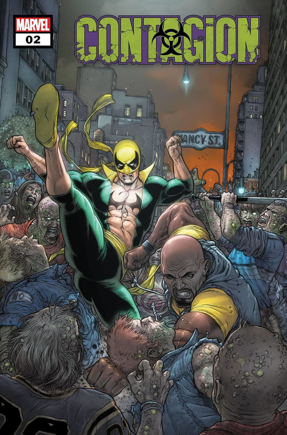 Ed Brisson Pits Street Level Marvel Heroes Against Zombie Hordes in Contagion