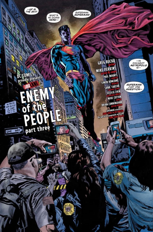 EXCLUSIVE Lois Lane #3 Preview