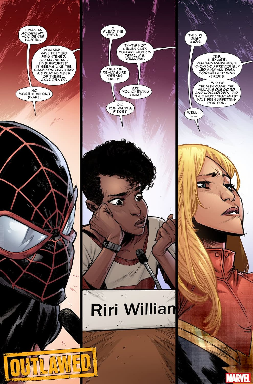 Eve Ewing Outlawed Marvel Teen Heroes