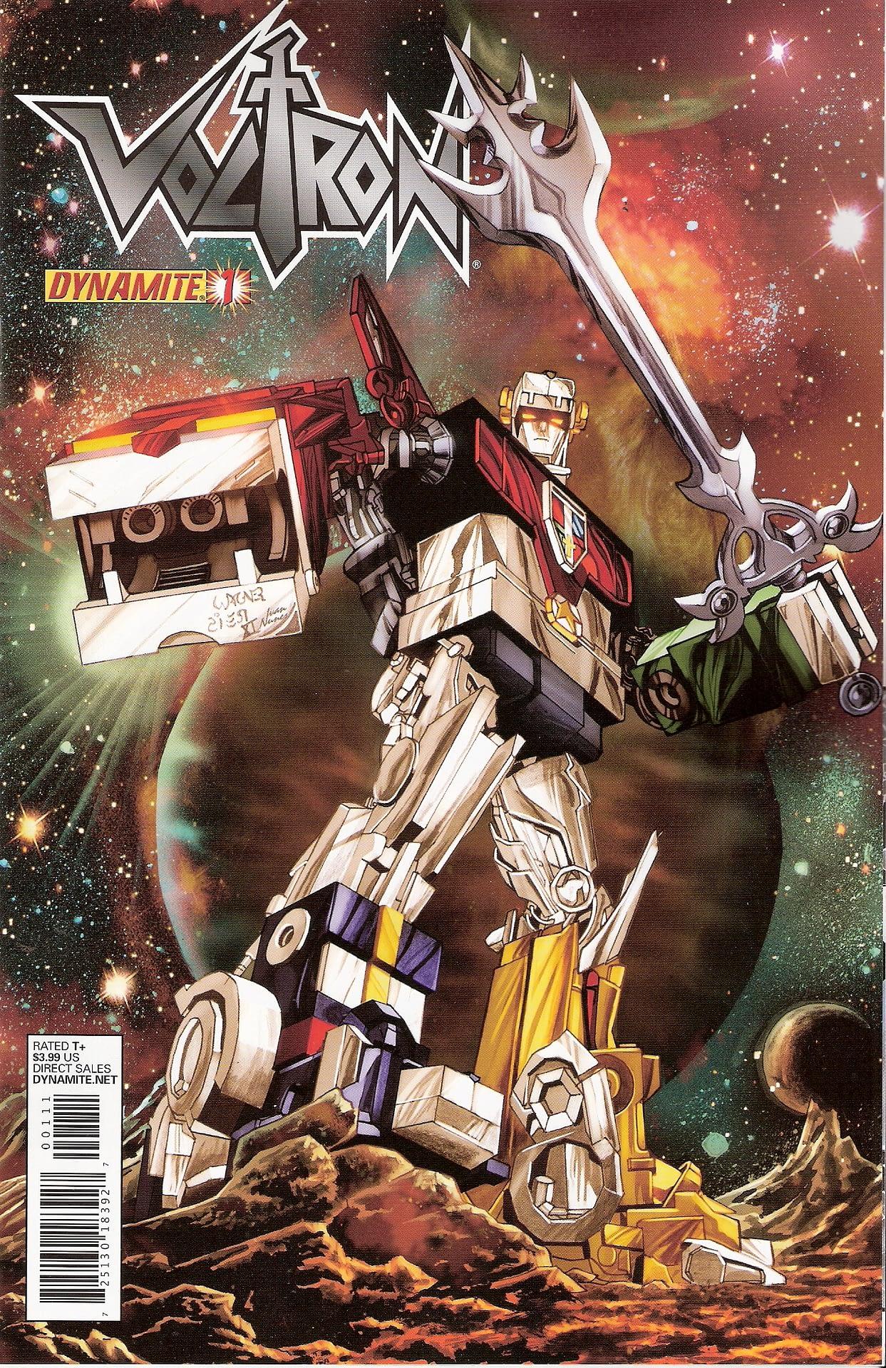 Swipe File - Voltron Vs Transformers
