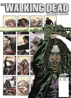 Current walking dead comic book