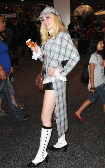 Amanda as Molly Dove at Anaheim WonderCon 2013