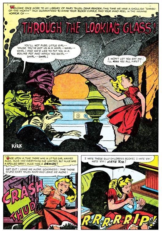 The Thing #17 Nov 1954 Thru the Looking Glass 1
