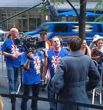 BBC-America Crew