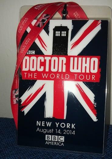 Doctor Who Badge Lanyard