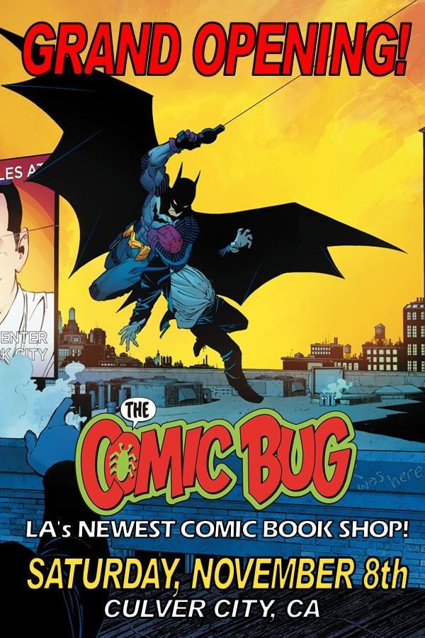 Comic Bug Opening