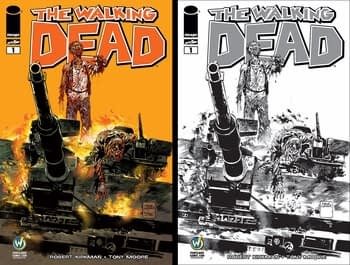 Walking Dead 1 Wizard World Portland 2015 Both Covers