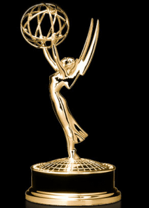 Emmy Award Logo on Black