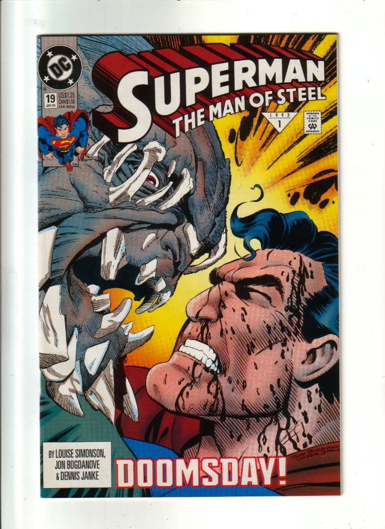 Image result for The Man of Steel #17, DC Comics
