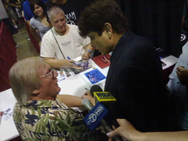 Rod Blagojevich and Adam West (Batman)