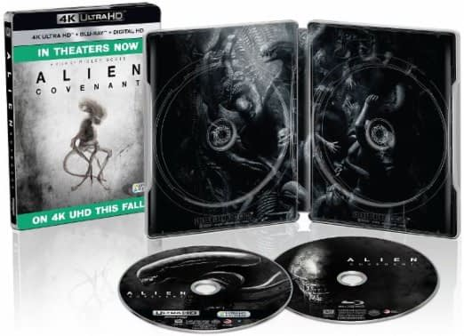 Alien Covenant Steelbook