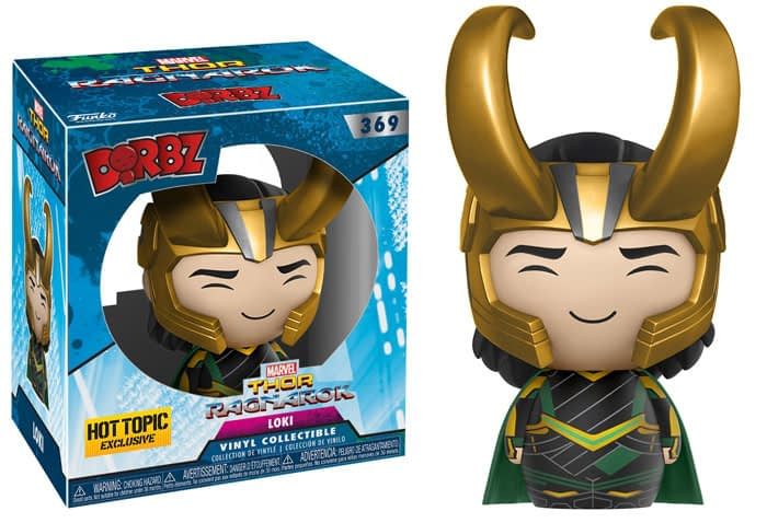 Thor Ragnarok Funko Dorbz Loki Hot topic