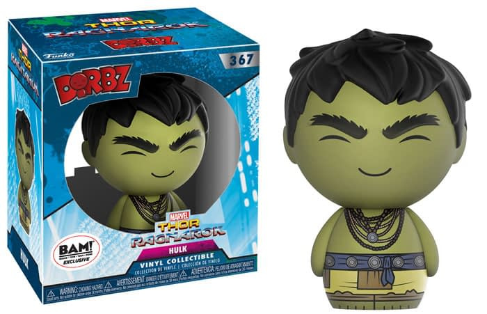 Thor ragnarok Funko Dorbz Hulk Books A million