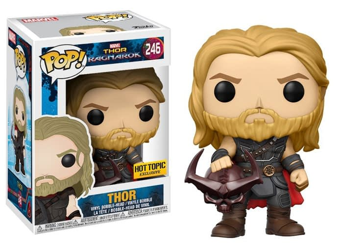 Thor ragnarok Funko Pop Thor Hot Topic