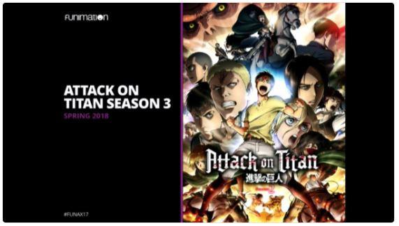 'Attack on Titan' Season 3 To Launch Spring 2018