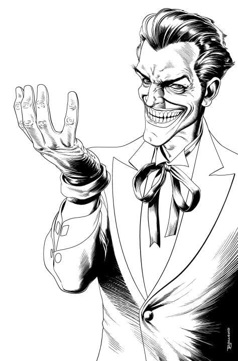 The Joker Is Getting An Adult Coloring Book In February