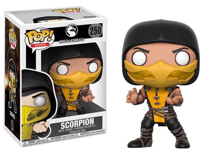 Funko Mortal Kombat Pop Scorpion
