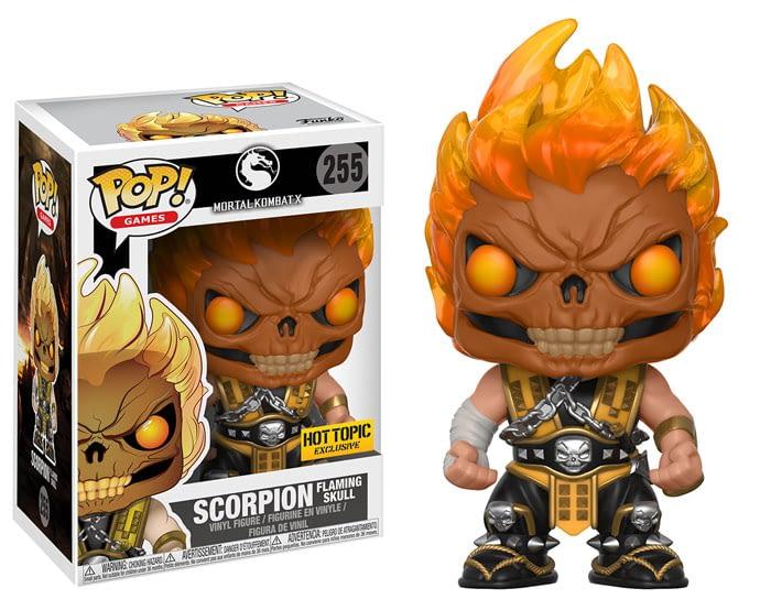 Funko Mortal Kombat Scorpion Maskless Pop