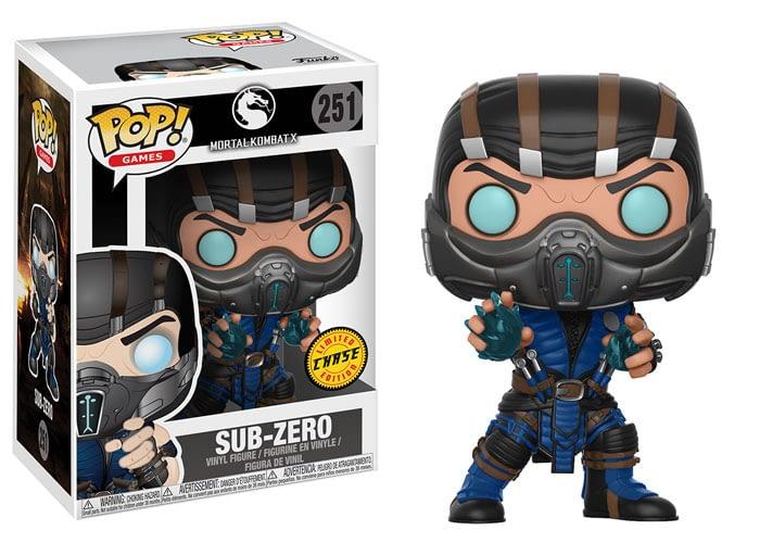 Funko Mortal Kombat Sub Zero Pop Chase
