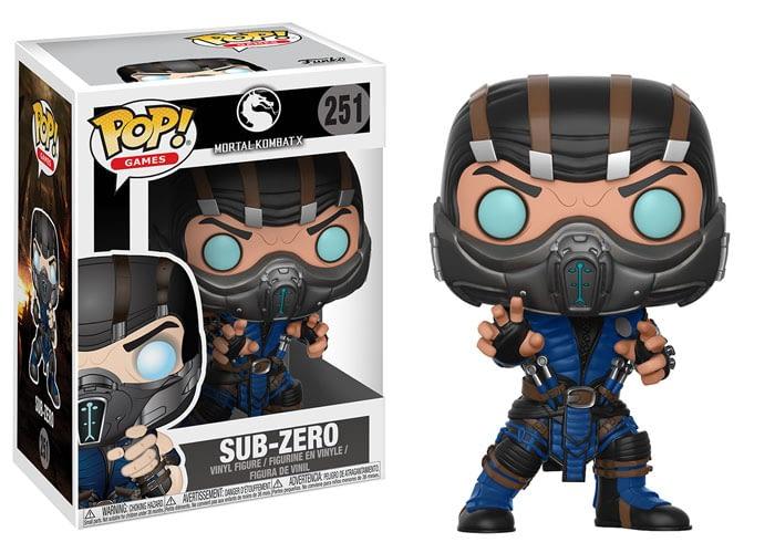 Funko Mortal Kombat Sub Zero Pop