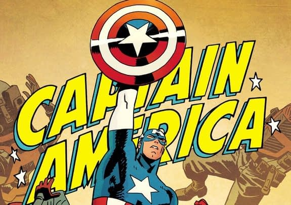 Captain America #695 cover by Chris Samnee and Matthew Wilson