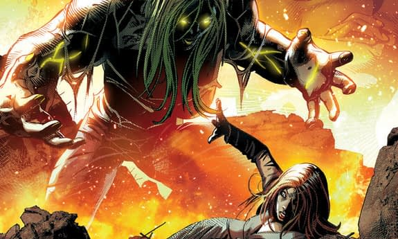 She-Hulk #159 art by Mike Deodato Jr. and Marcelo Maiolo