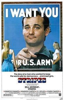 stripes bill murray 80s military comedy