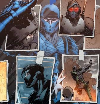 Ninja-K #2 cover by Trevor Hairsine and Andrew Dalhouse