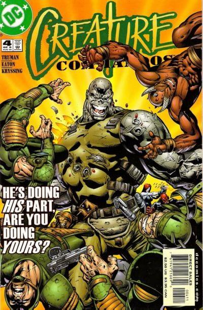 Creature Commandos #4 cover by Scot Eaton