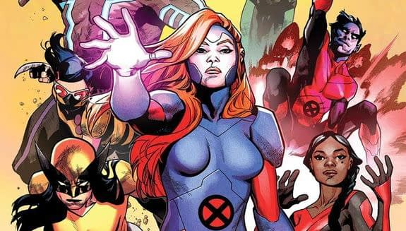 X-Men: Red #1 variant cover by Mahmud Asrar and Ive Svorcina