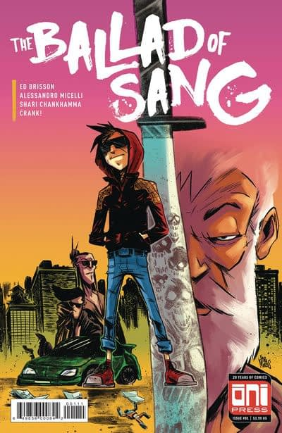 Ballad of Sang #1 cover by Alessandro Micelli and Shari Chankhamma