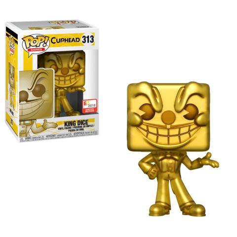 Funko E3 King Dice Cuphead Pop