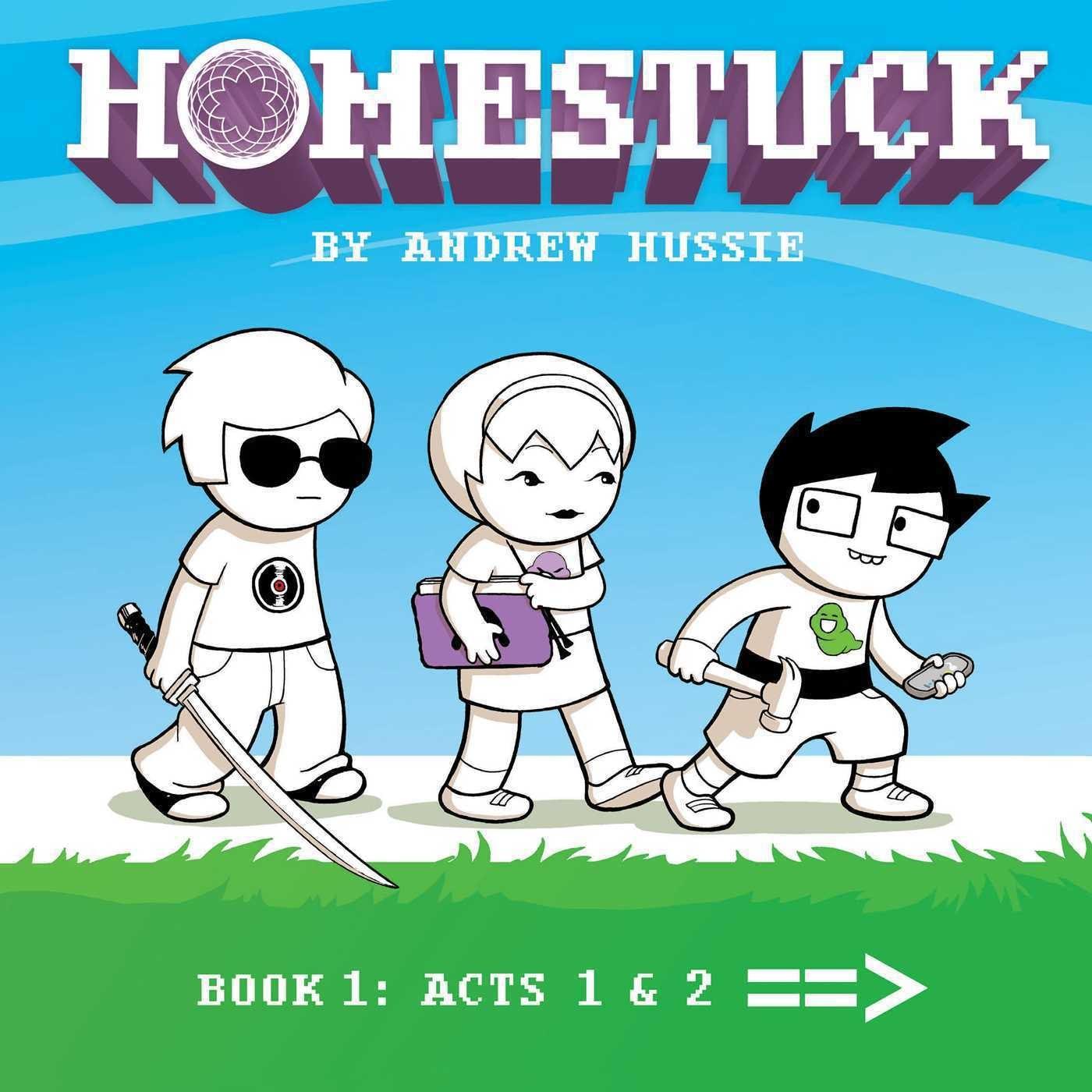 Homestuck Book 1 cover by Adrienne Garcia