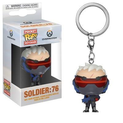 Funko Overwatch Soldier 76 Pop Keychain