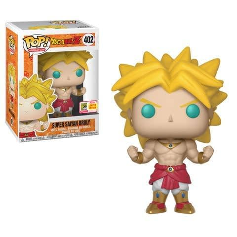 Funko SDCC Dragonball Z Super Saiyan Broly Pop