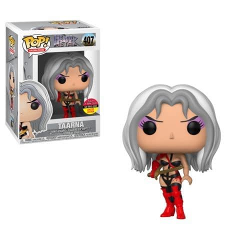 Funko SDCC Exclusive Anime Heavy Metal Taarna Pop