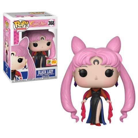 Funko SDCC Exclusive Sailor Moon Black Lady Pop