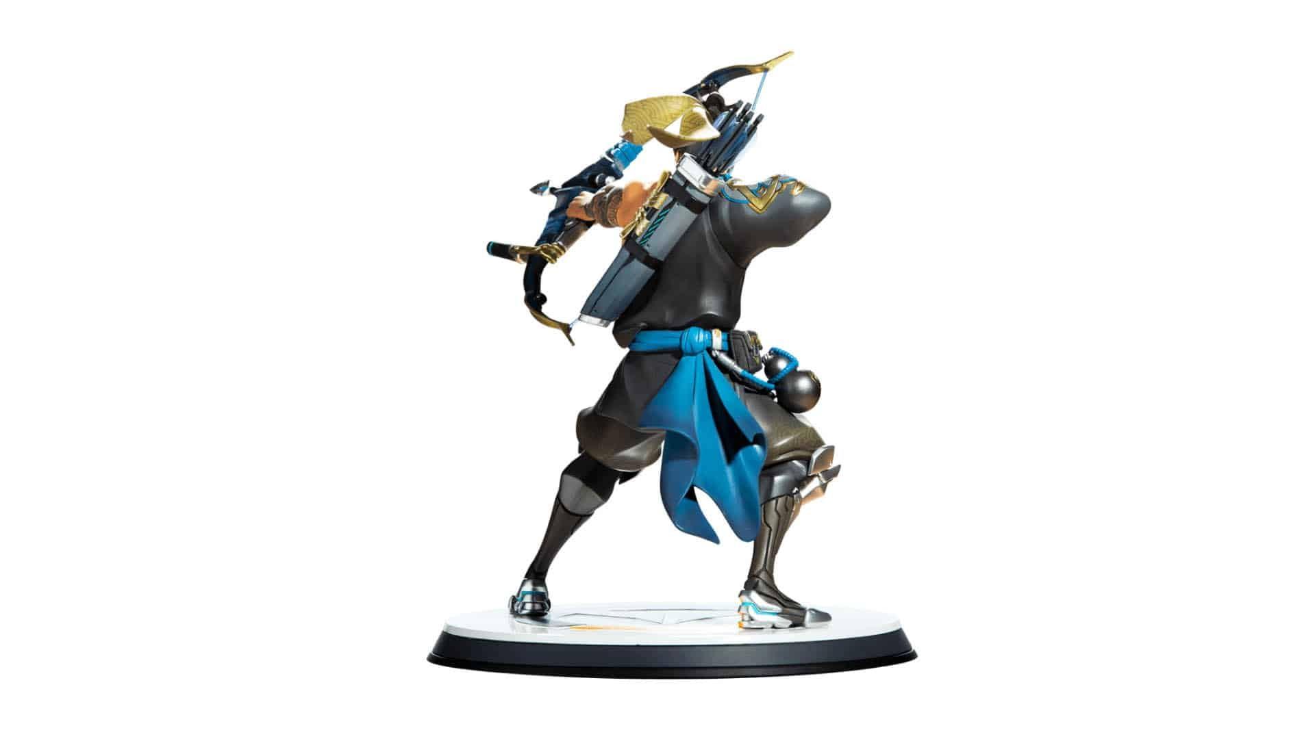 Blizzard Overwatch Hanzo Statue 5