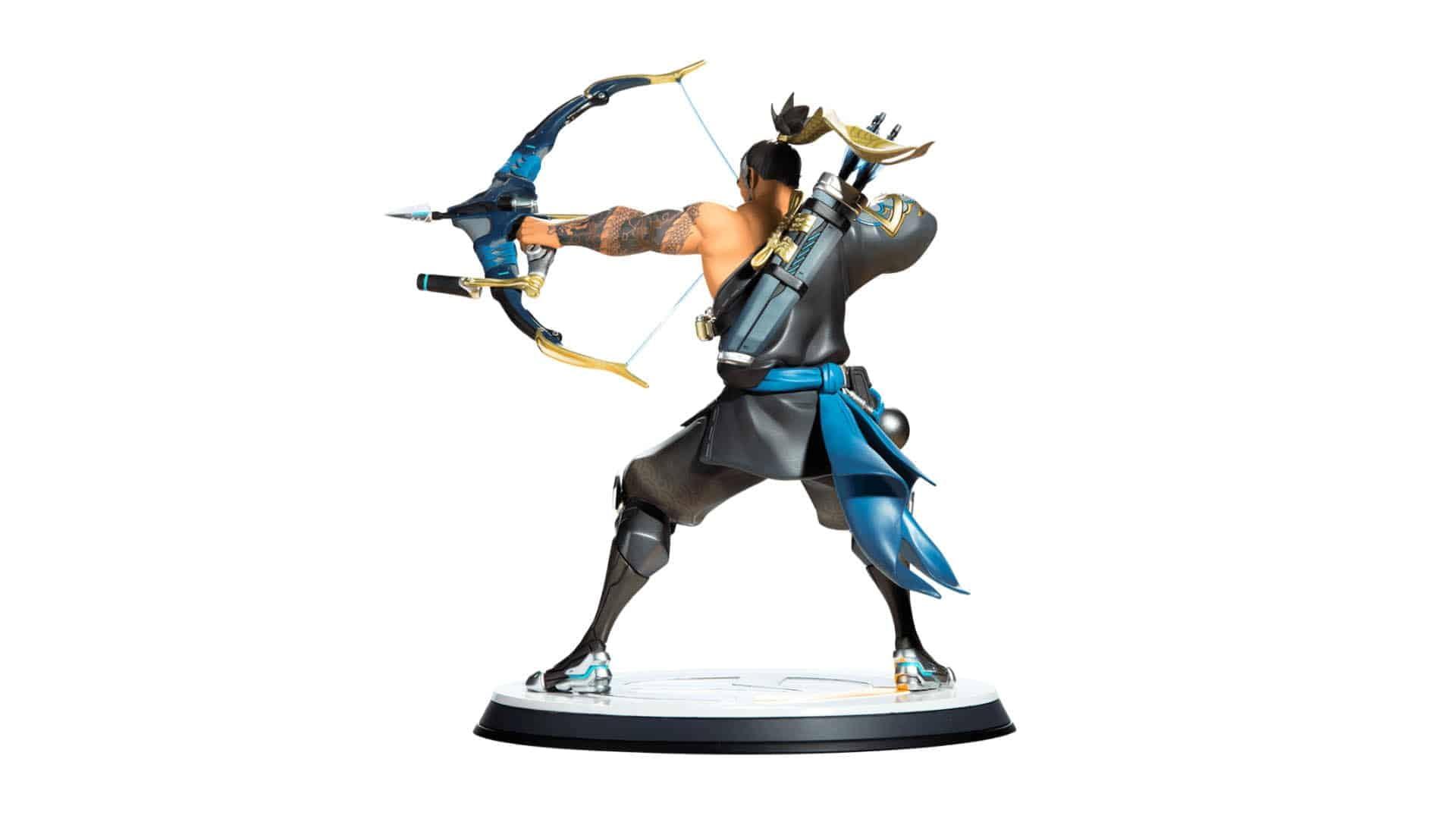 Blizzard Overwatch Hanzo Statue 6