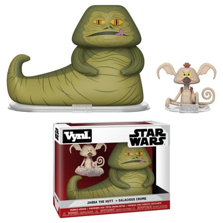 Funko Star Wars Vynl Jabba and Crumb Set