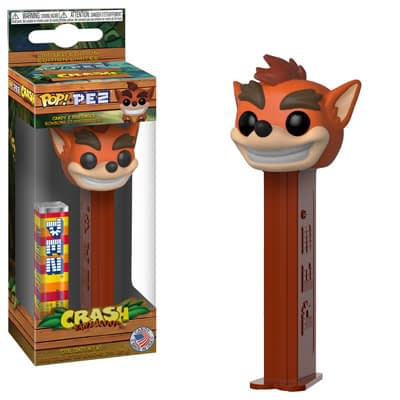 Funko Pez Crash Bandicoot